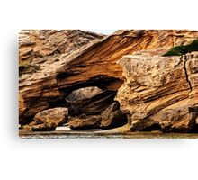 Rocks @ Warrnambool - Victoria Canvas Print