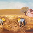Field workers by ISABEL ALFARROBINHA