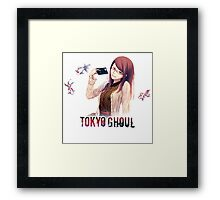 rize looking innocent Framed Print