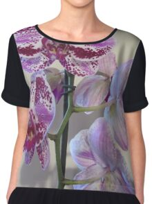 Front and Back (Orchid) Chiffon Top