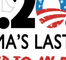 Obama's Last Day in Office Sticker