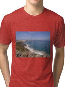 Pacific Ocean at Cape Reinga Tri-blend T-Shirt