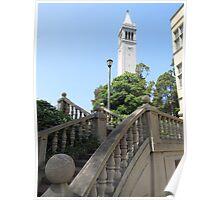 Sather Tower, Berkeley Poster
