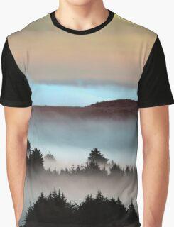 Bodega Bay in Pastels, Sonoma County, California Graphic T-Shirt