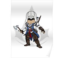 Assassin's Creed 3 Chibi Connor Kenway Poster