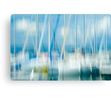 At The Quay Canvas Print