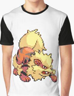 Arcanine pix Graphic T-Shirt