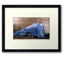 New York Central Framed Print
