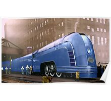 New York Central Poster