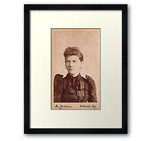 Mary E. Jones Framed Print