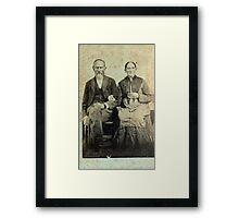 James Marion & Martha George - Jones Framed Print
