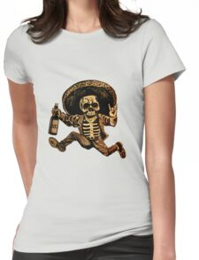 Day of the Dead Posada Womens Fitted T-Shirt