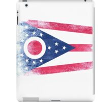 Ohio State Flag Distressed Vintage Shirt iPad Case/Skin