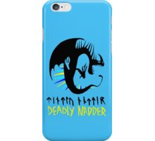 DEADLY NADDER - Sharp Class Symbol iPhone Case/Skin
