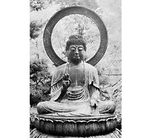 The Buddha, Statue Photographic Print