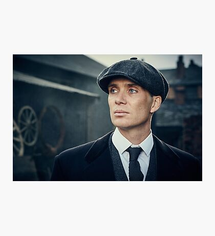 Tommy Shelby - Peaky Blinders - Cillian Murphy Poster Photographic Print