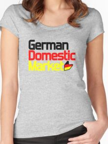 German Domestic Market (2) Women's Fitted Scoop T-Shirt
