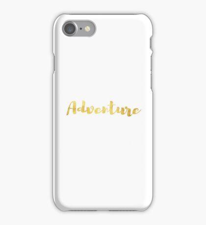 Adventure in Gold iPhone Case/Skin