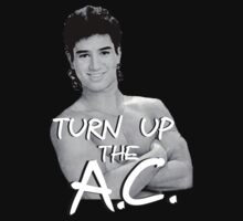 Turn Up the A.C. 2 Baby Tee