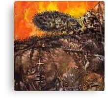 Shaman World 2 of 3 Canvas Print