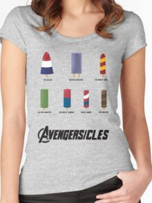AVENGERSICLES Women's Fitted Scoop T-Shirt
