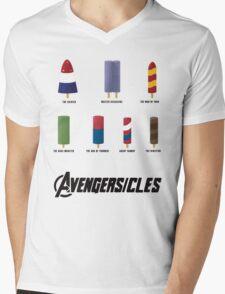 AVENGERSICLES Mens V-Neck T-Shirt