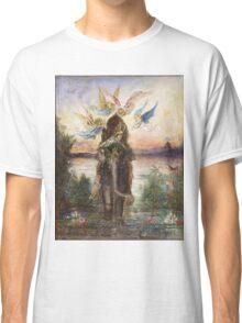The Sacred Elepant Painting (1882) Classic T-Shirt