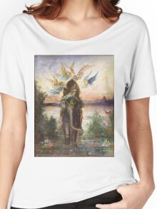 The Sacred Elepant Painting (1882) Women's Relaxed Fit T-Shirt