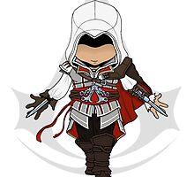 Assassins Creed 2 Chibi Ezio Auditore da Firenze by SushiKittehs