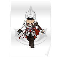 Assassins Creed 2 Chibi Ezio Auditore da Firenze Poster