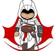 Altaïr Ibn-La'Ahad: Assassins Creed Chibi by SushiKittehs