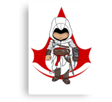 Altaïr Ibn-La'Ahad: Assassins Creed Chibi Canvas Print