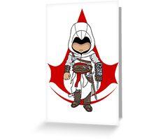 Altaïr Ibn-La'Ahad: Assassins Creed Chibi Greeting Card