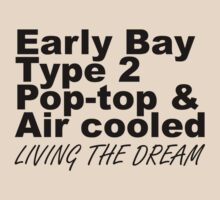 Early Bay Pop Type 2 Pop Top Black by splashgti