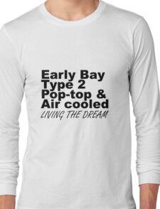Early Bay Pop Type 2 Pop Top Black LTD Long Sleeve T-Shirt