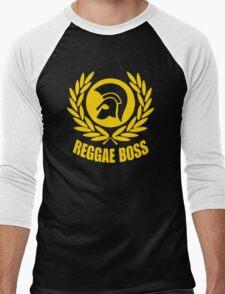REGGAE BOSS Men's Baseball ¾ T-Shirt