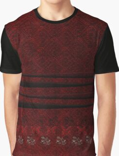 Old Red and Gold Graphic T-Shirt