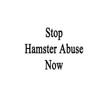 Stop Hamster Abuse Now by supernova23