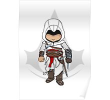 Assassins Creed Chibi Altaïr Ibn-La'Ahad  Poster
