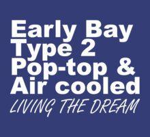 Early Bay Pop Type 2 Pop Top White by splashgti