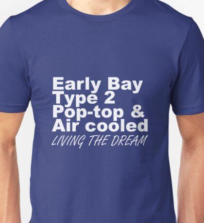 Early Bay Pop Type 2 Pop Top White LTD Unisex T-Shirt