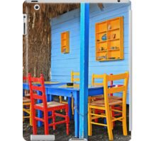 Have a seat at Therma - Kos island iPad Case/Skin