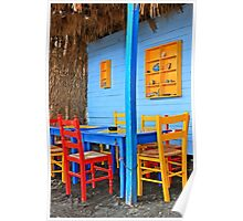 Have a seat at Therma - Kos island Poster