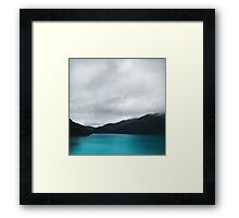The Waters And The Wild Framed Print