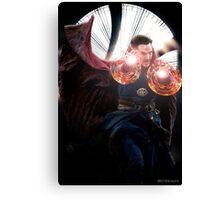 Doctor Strange edit no2 by lichtblickpink Canvas Print