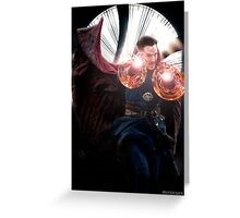 Doctor Strange edit no2 by lichtblickpink Greeting Card