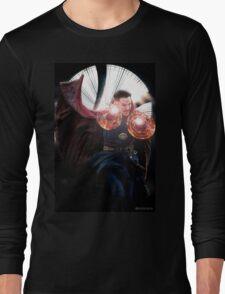 Doctor Strange edit no2 by lichtblickpink Long Sleeve T-Shirt