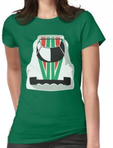Lancia Stratos rally Womens Fitted T-Shirt