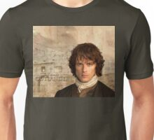 Outlander/Jamie Fraser with Lallybroch background Unisex T-Shirt