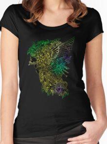 www.artherapie.ca T-shirt femme moulant à col profond